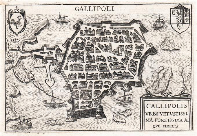 Cartina Geografica Italia Gallipoli.Gallipoli Idea Rare Maps