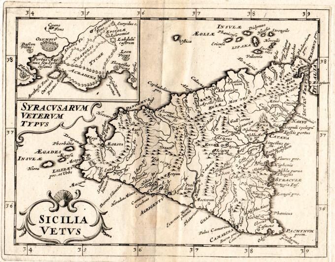 Sicilia archivi idea rare maps sicilia vetus rara carta geografica altavistaventures Images