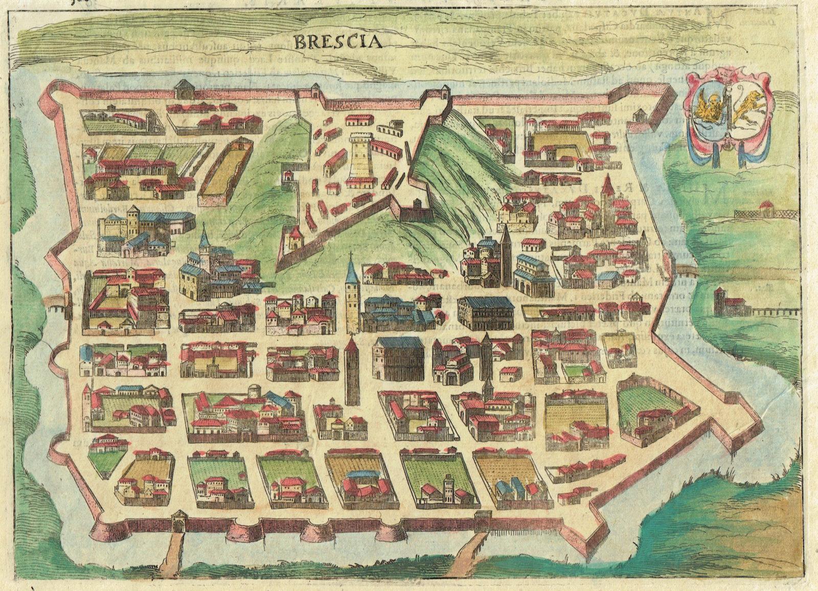 Brescia - Idea Rare Maps