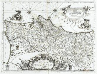 Cartina Del Portogallo Muta.Spagna E Portogallo Archivi Idea Rare Maps