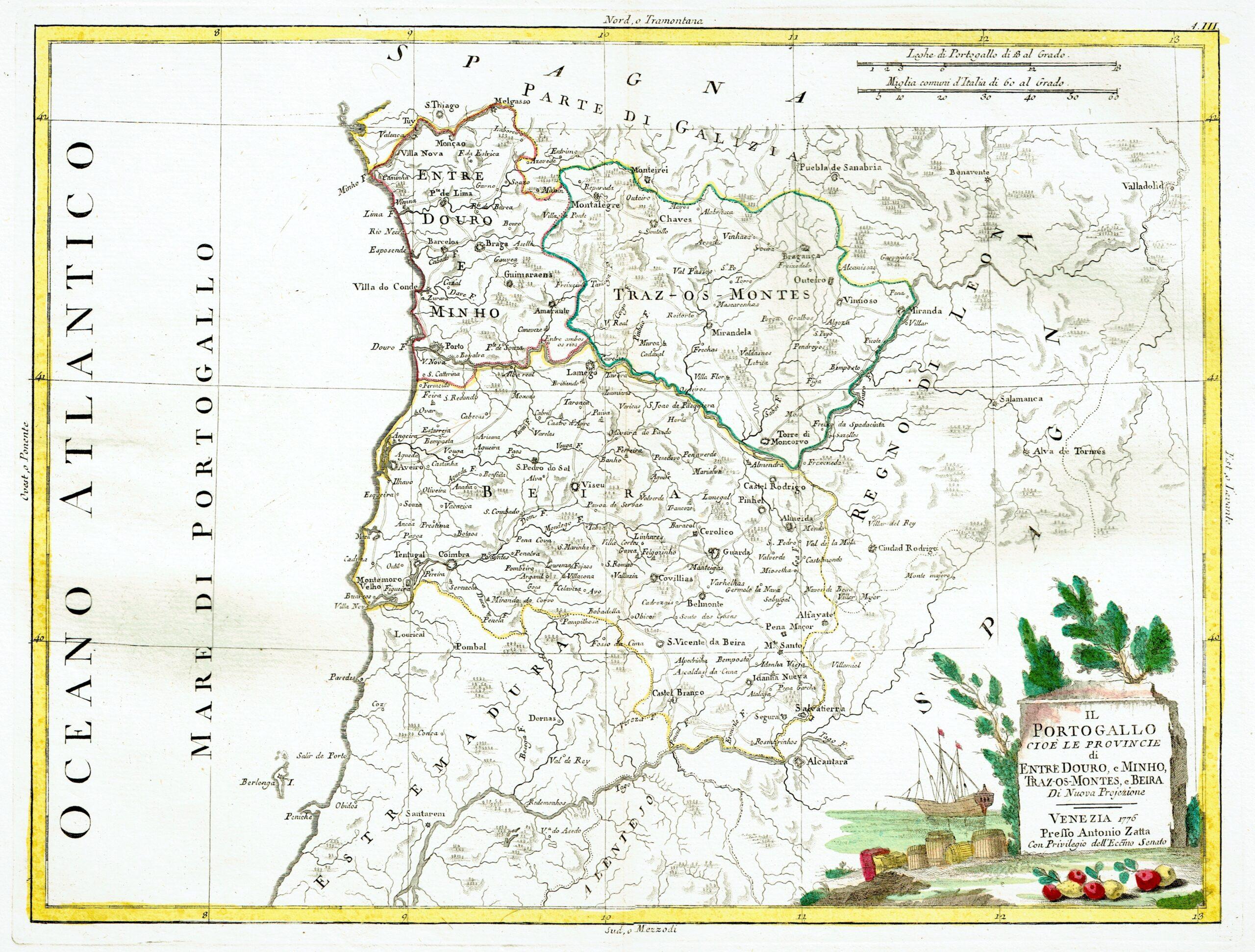 Portogallo Spagna Cartina.Spagna E Portogallo Archivi Idea Rare Maps