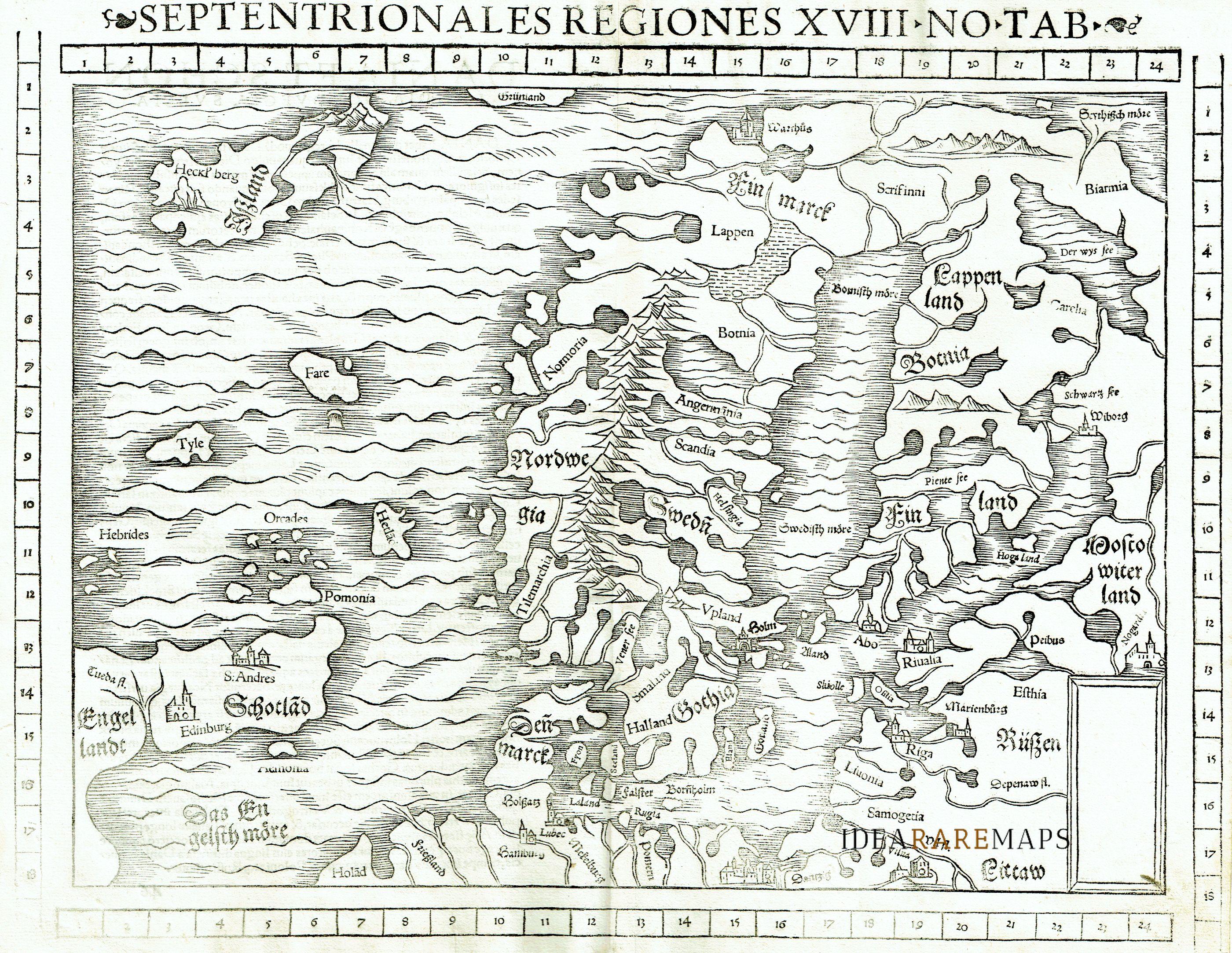 regiones septentrionales
