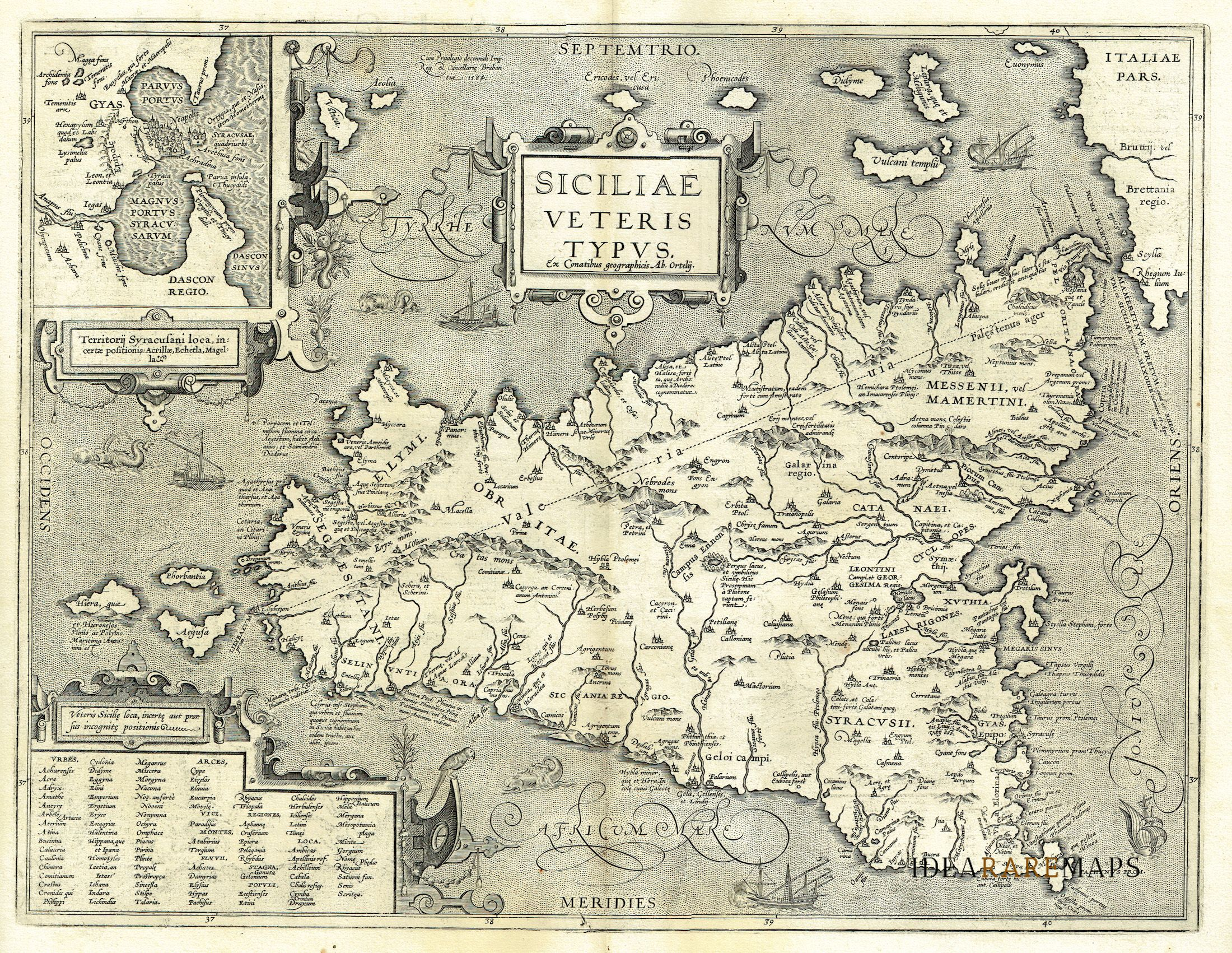Cartina Sicilia Antica.Sicilia Archivi Idea Rare Maps