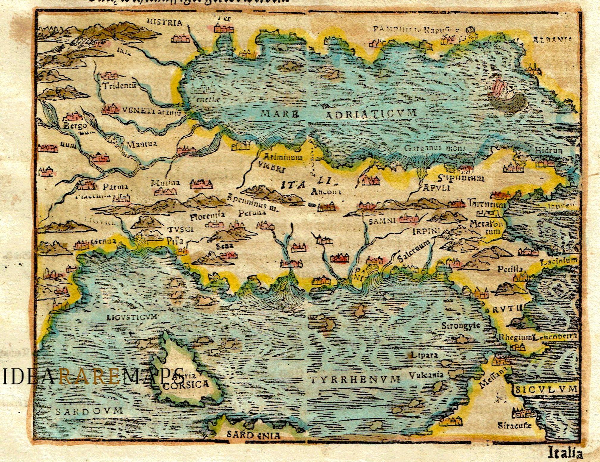 Italy Archivi - Idea Rare Maps