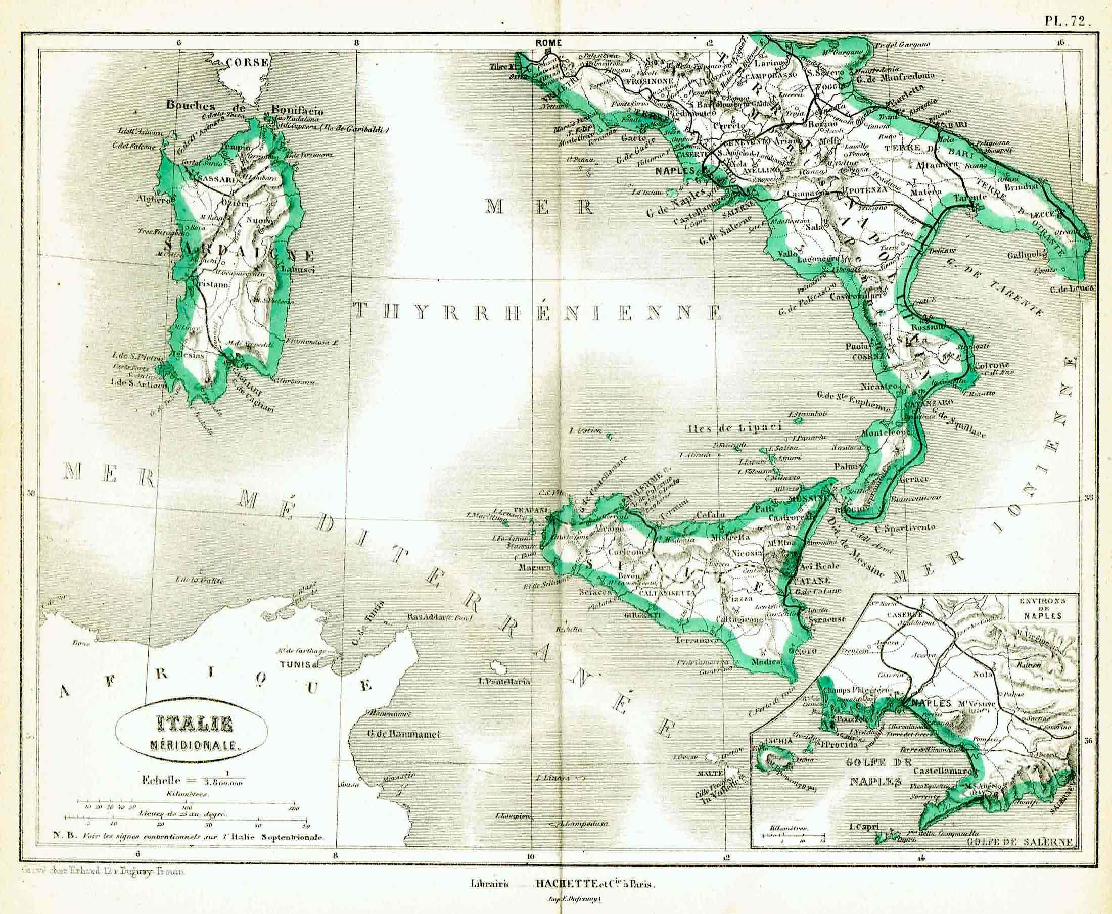 italia meridionale vorzet