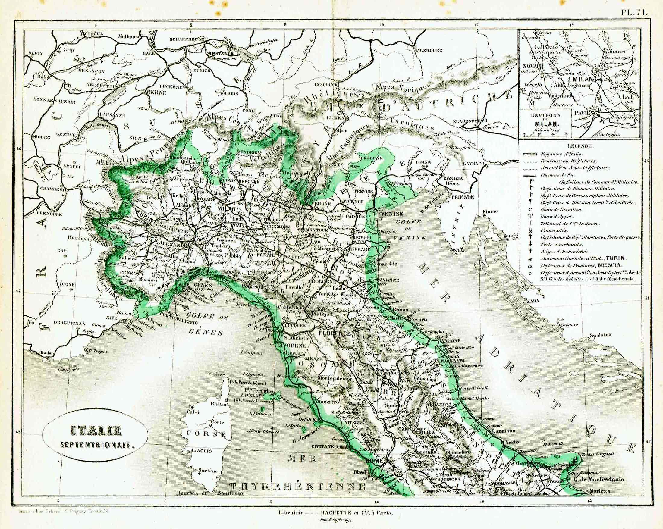 italia settentrionale vorzet