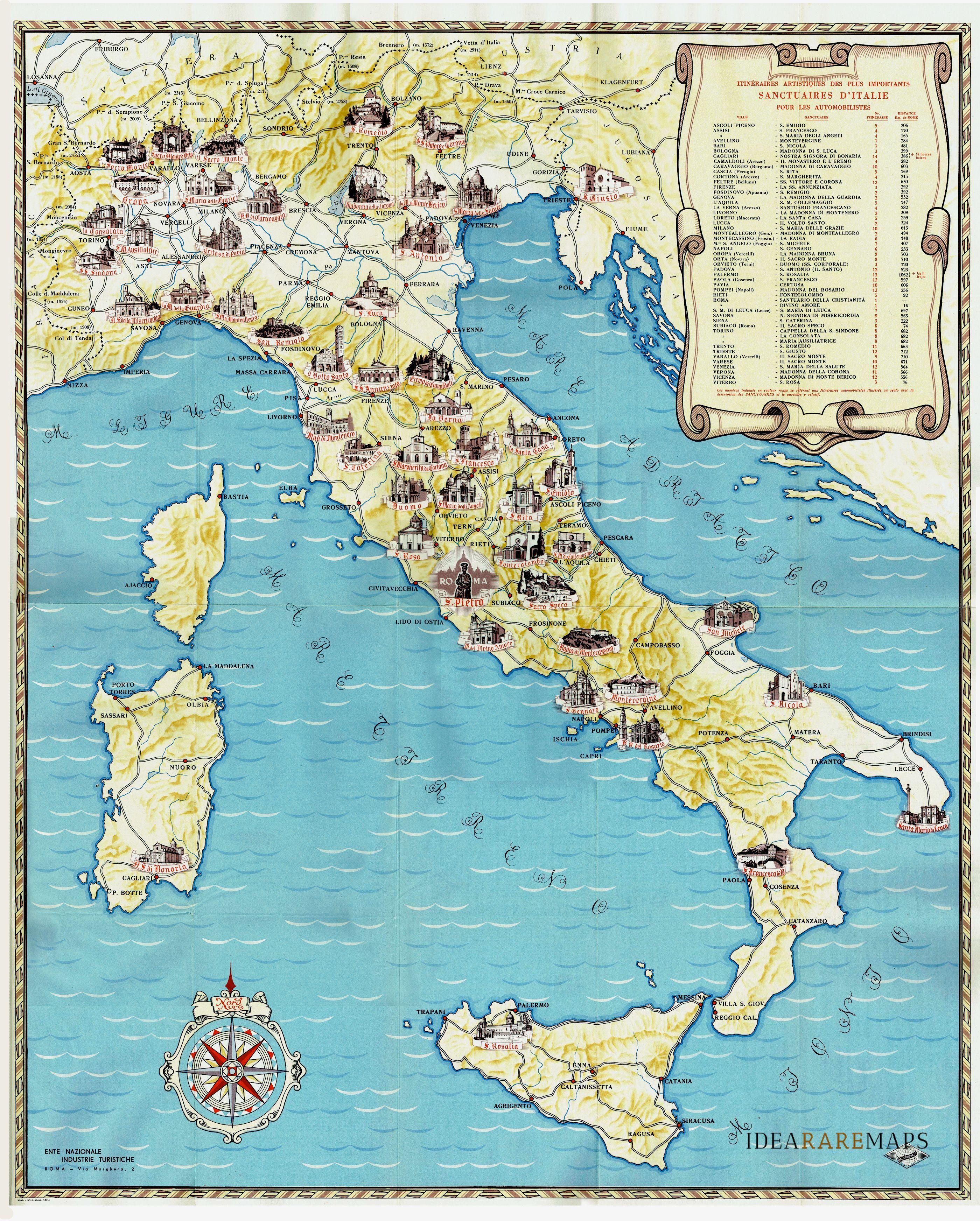 Ravenna Cartina Geografica Italia.Italia Archivi Idea Rare Maps