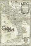 regno di napoli carta geografica antica