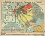 ww1 octopus map prussia war