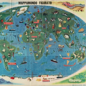 Mappamondo Figurato