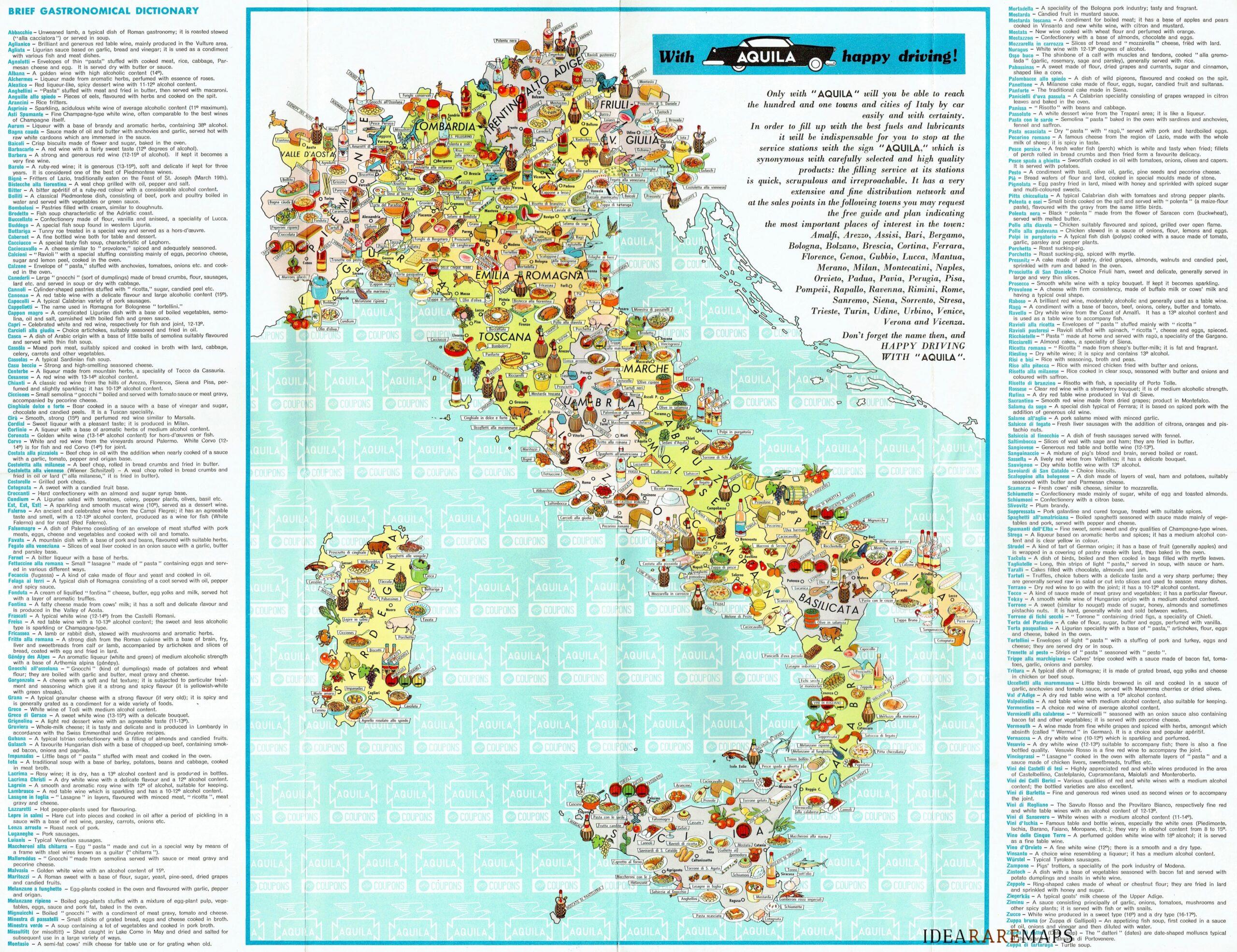 Cartina Italia Con Legenda.Italia Archivi Idea Rare Maps