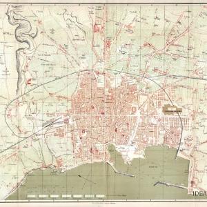 Pianta della Città di Palermo 1892
